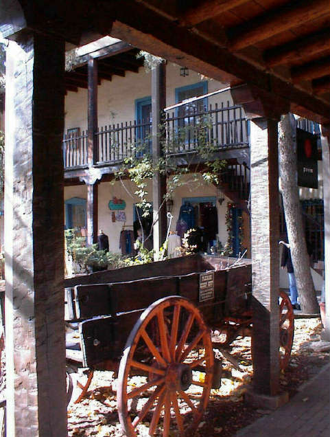 Innenhof / Inner Court Yard in Santa Fe